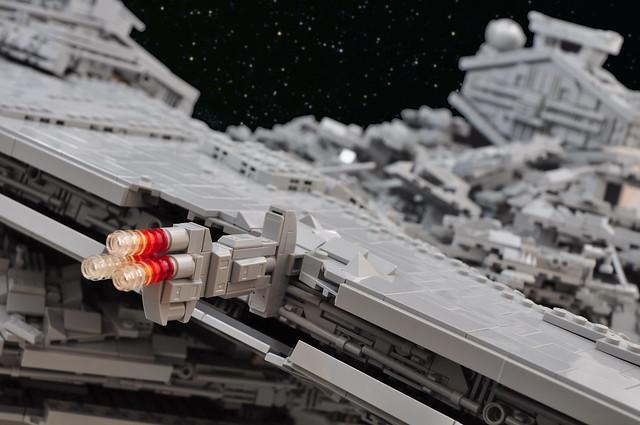 Star Wars: Rogue One - Star Destroyer Crash