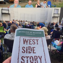 About to watch the Sharks vs the Jets! #WestSideStory #musicalsatrichter