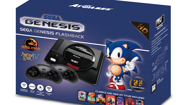 Sega And Atari Classic Consoles will set you pack £80