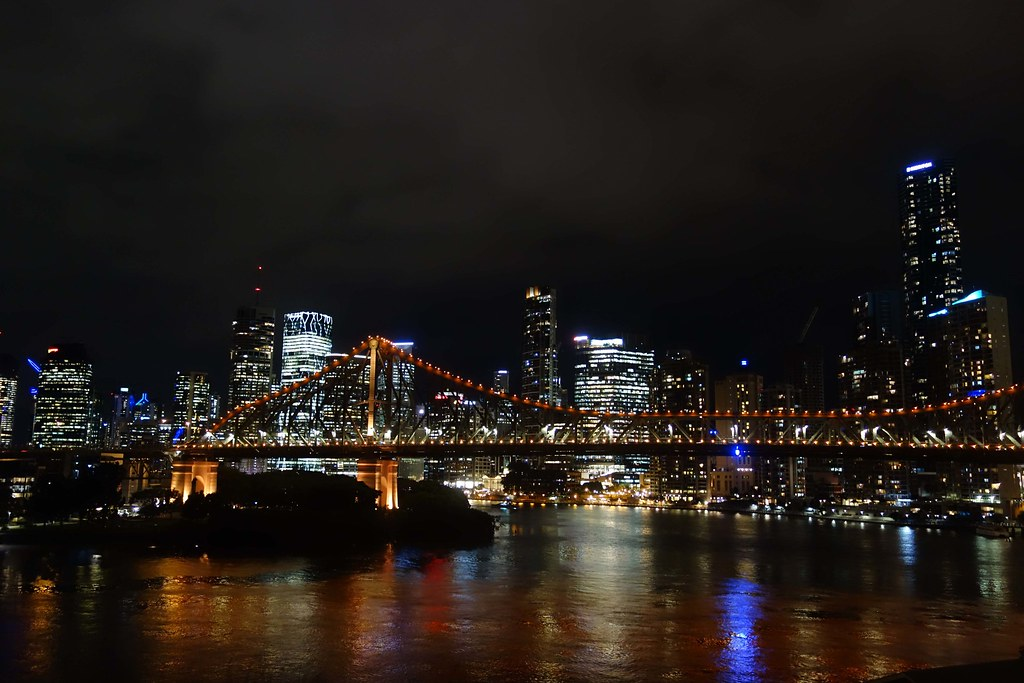 Brisbane - Story Bridge by Night