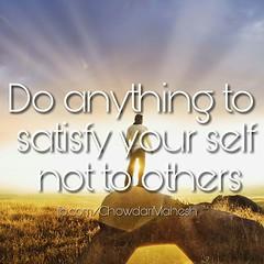 #satisfy