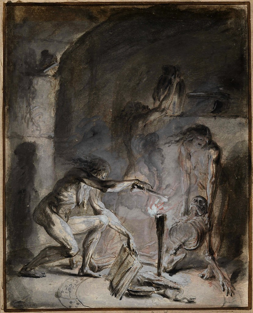 Attributed to Luis Paret y Alcazar - Witchcraft Scene, 1780