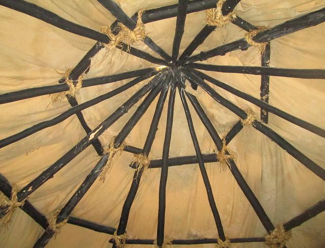 Skara Brae Mock Up Ceiling