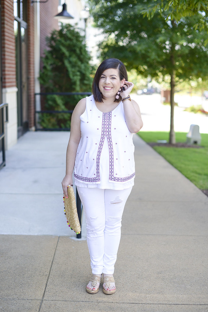 White Outfit for Summer-@headtotoechic-Head to Toe Chic