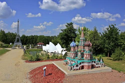 Moskau gleich neben Sydney und Paris!!?? ...... Na klar! --> Hier: Miniwelt Lichtenstein / Sachsen