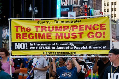 Trump/Pence Regime Must Go!