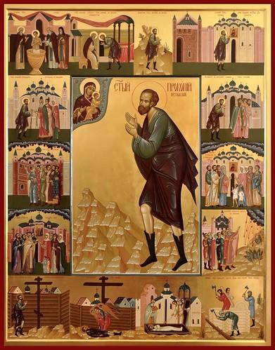 Праведный Прокопий Устюжский, Христа ради юродивый