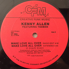 KENNY ALLEN:ALL I WANT IS YOU(LABEL SIDE-B)