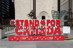 #StandforCanada (Indigenous rights)