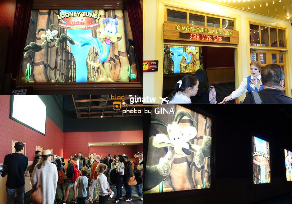 澳洲黃金海岸自由行》昆士蘭黃金海岸 華納兄弟電影世界 (Warner Bros Movie World)小孩的遊戲天堂 走進電影人物街道世界玩樂重點 @Gina Lin