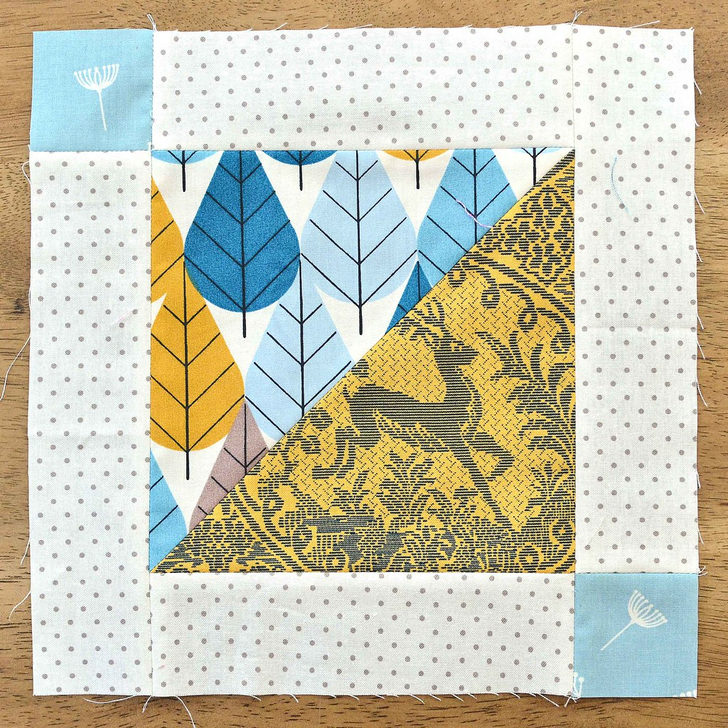 The Fussy Cut Sampler Block # 39