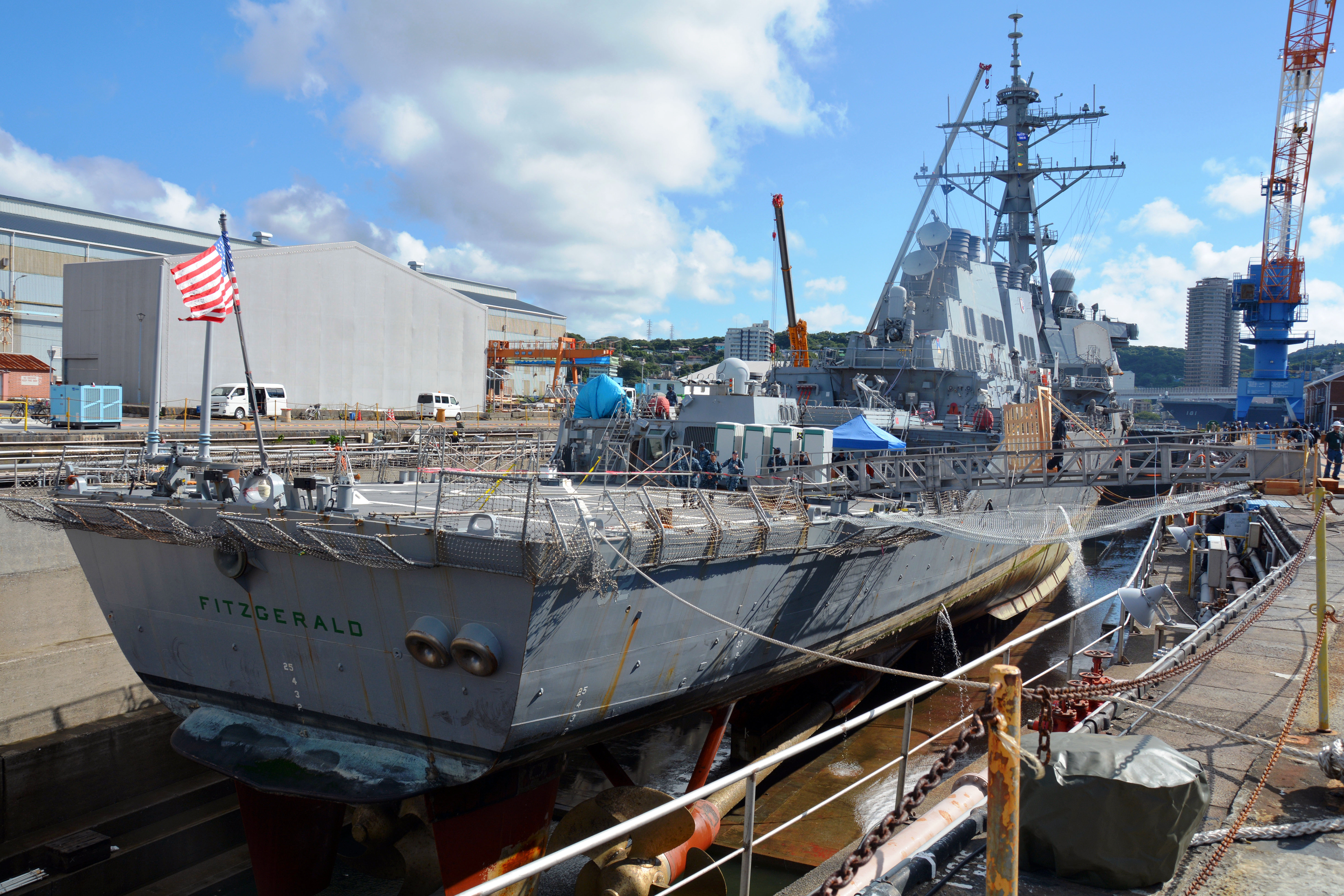 Collision destroyer USS Fitzgerald avec un navire marchand ! - Page 6 35910397856_d9c27b40b5_o