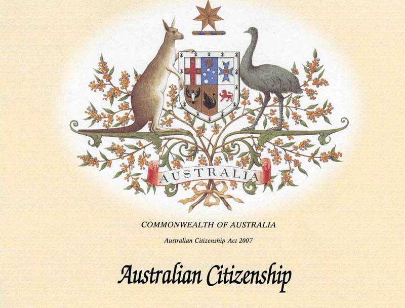 Menjadi warga negara Australia