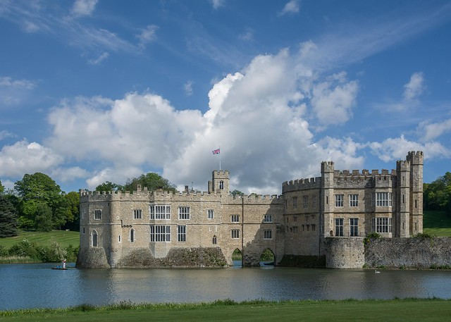 Flying the flag at Leeds Castle