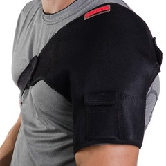 8-in-1-portable-heat-therapy-wrapwrap self heating USB Plug In Far Infrared deep penetrating therapeutic shoulder heat therapy wrap from Venture Heat