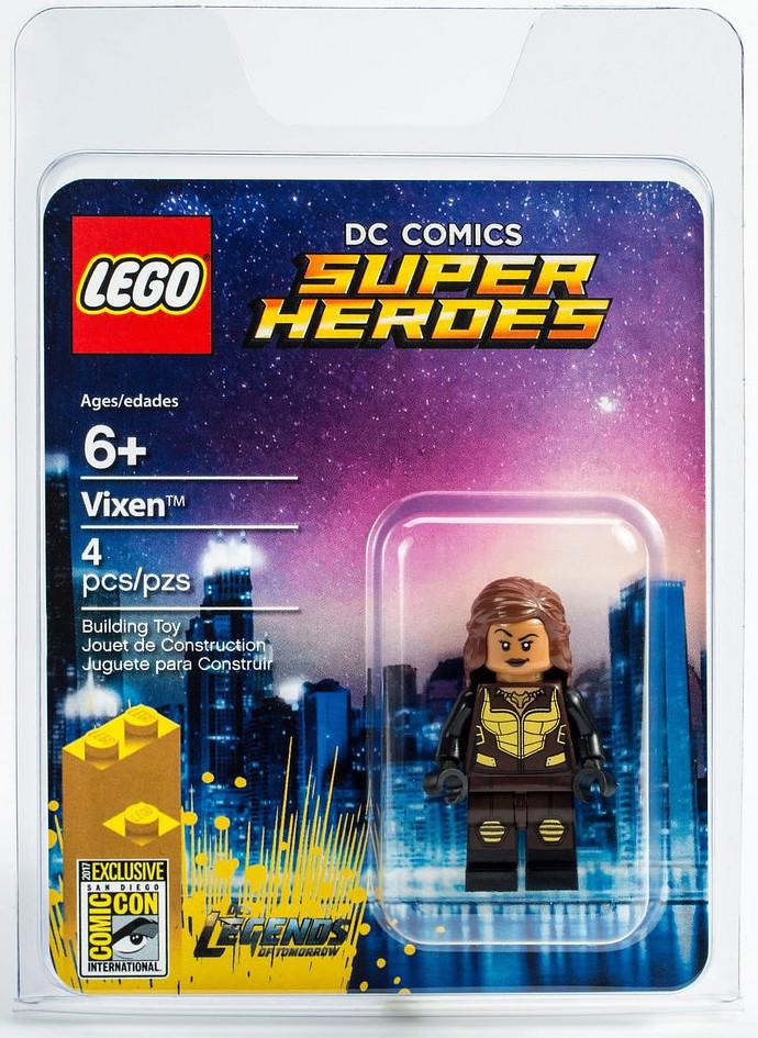 2017 SDCC 樂高限定人偶登場!LEGO DC 超級英雄系列【雌狐】Legends of Tomorrow Vixen