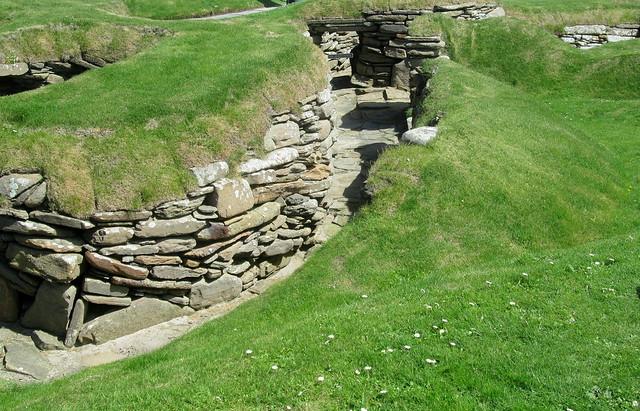 House Entrance, Skara Brae, Orkney
