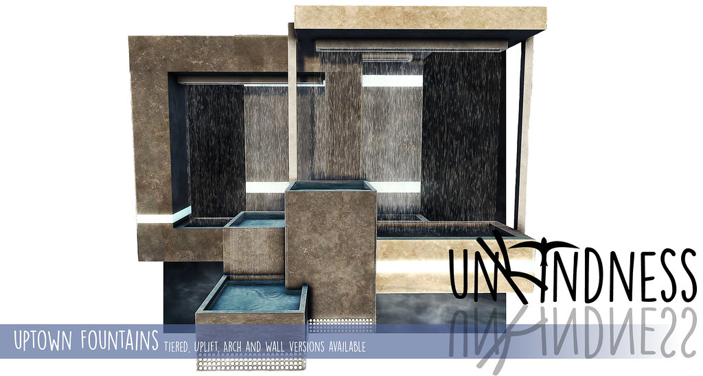 uK - Uptown Fountains - FaMESHed - SecondLifeHub.com