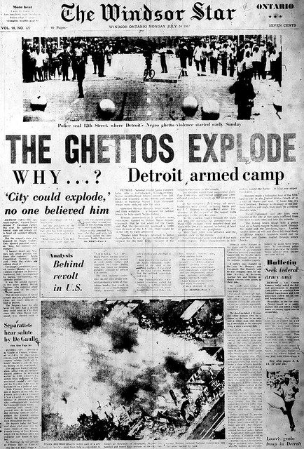 ws 1967-07-24 front page three star edition