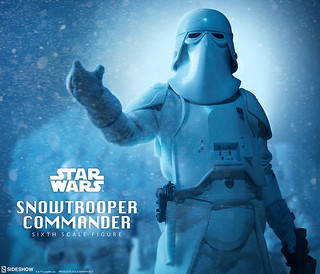 Sideshow Collectibles【雪地指揮官】星際大戰系列 Snowtrooper Commander 1/6 比例人偶作品