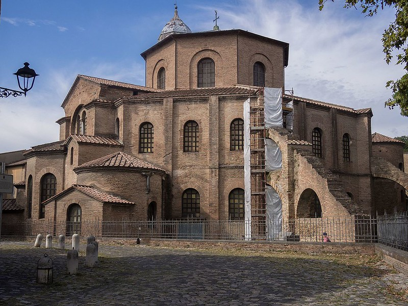 Basilica of San Vitale, the home of Exarchate of Ravenna