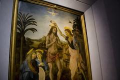 The Baptism of Christ, Verrocchio & Da Vinci