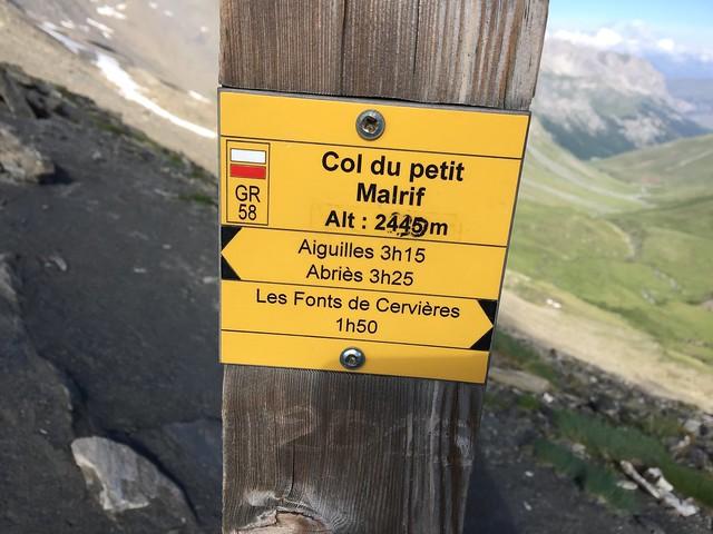 Col du Petit Malrif