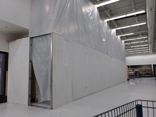 walmart supercenter murdock store portcharlotte fl florida remodel construction