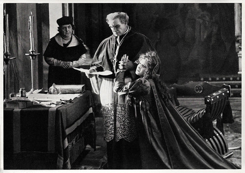 Liane Haid and Albert Bassermann in Lucrezia Borgia (1922)