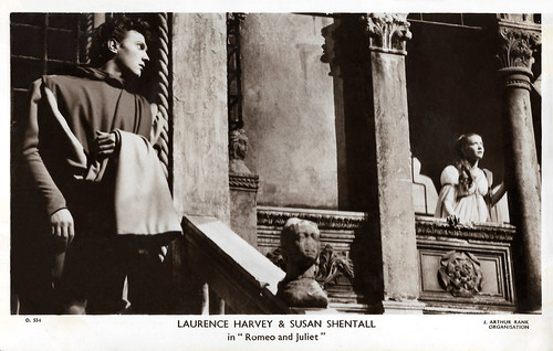 Laurence Harvey and Susan Shentall in Romeo and Juliet (1954)