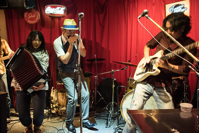 the AstroBluenauts live at Terraplane, Tokyo, 28 Jul 2017 -00462