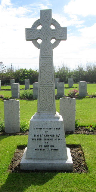 HMS Hampshire Memorial, Lyness War Cemetery