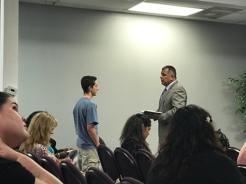 Pastor Orlando Salinas revival