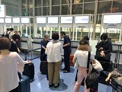 170712 001 羽田空港国際線ターミナル グループチェックインカウンター