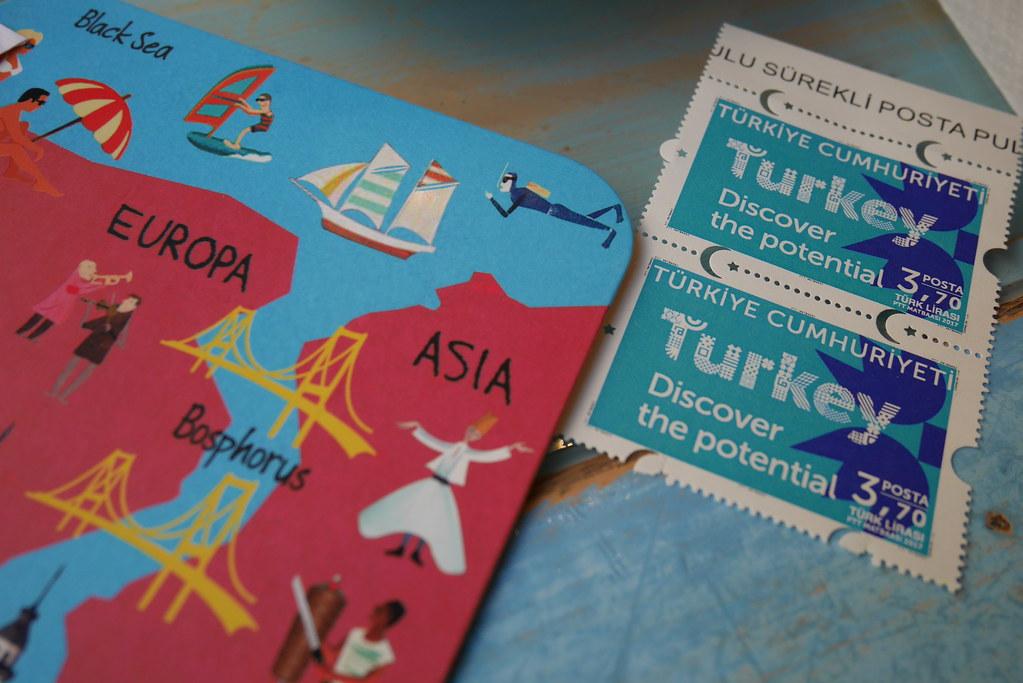 伊斯坦堡明信片