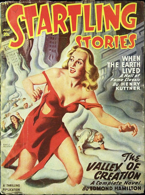 Startling Stories Vol. 17, No. 3 (July, 1948). Cover Art by Earle Bergey