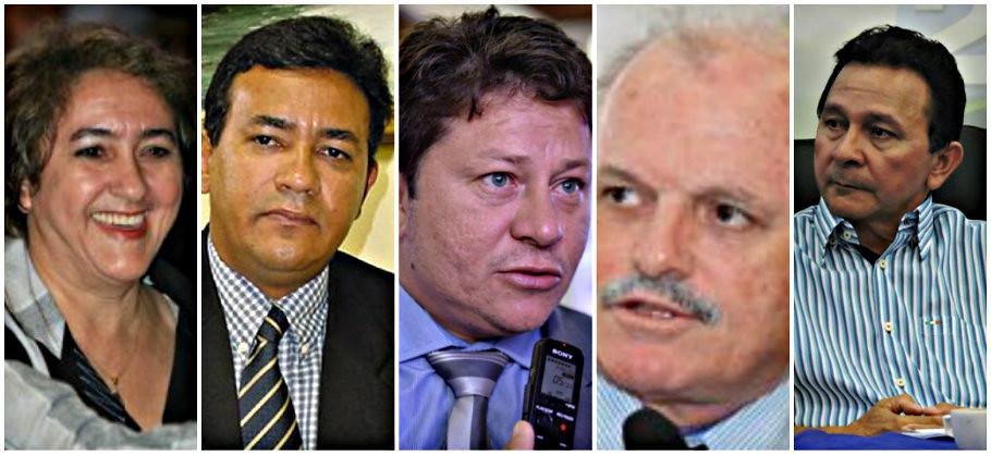 9 pessoas que desmoralizam o decreto antinepotismo em Santarém, Nepotismo - Maria José, Erasmo, Ney, Emir e José Maria