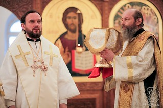Литургия в Спасском соборе 390