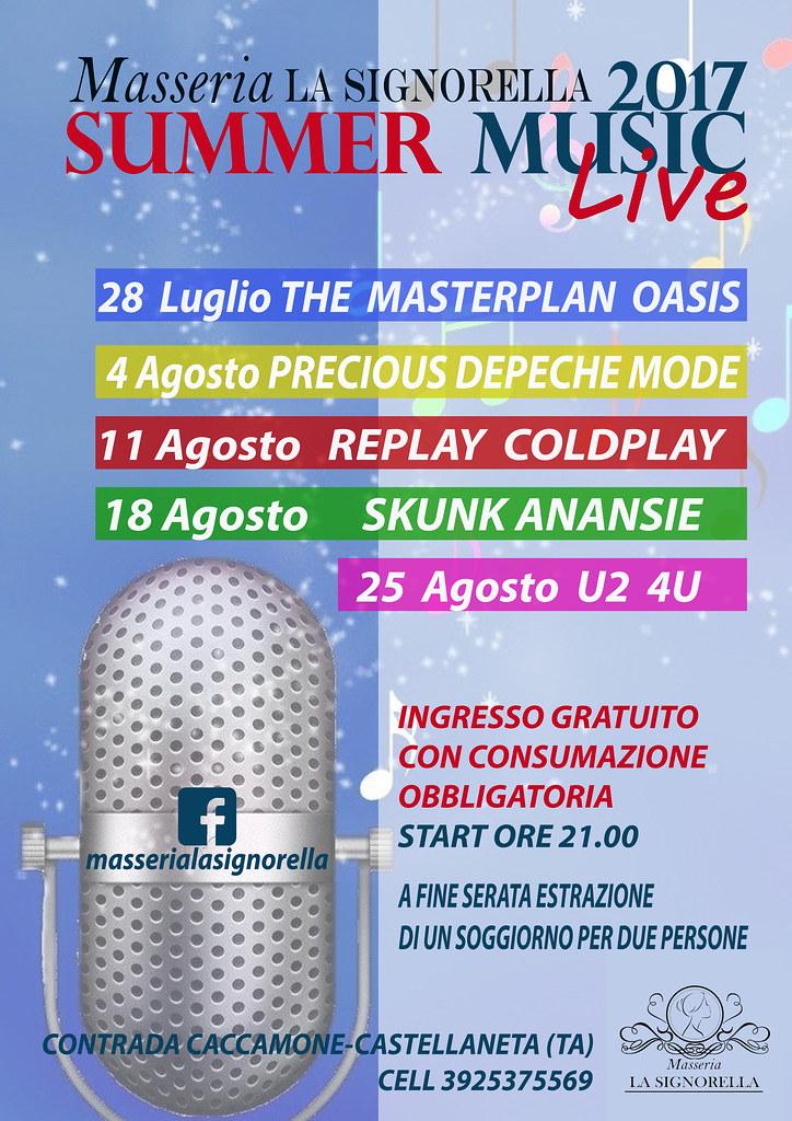 summer music live la signorella