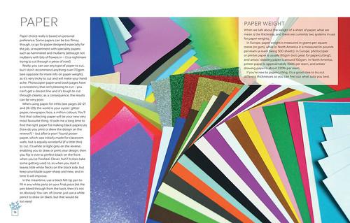 Papercutting Paper Guide