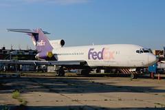 N114FE | Boeing 727-24C | Aviation High School (donated by FedEx)