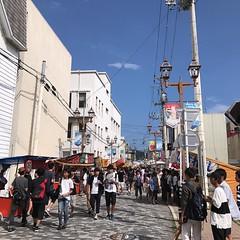 こんなに子供がいたんだなぁ。東京は毎日祭りだけど、ここは年2日のこの時だけだ。