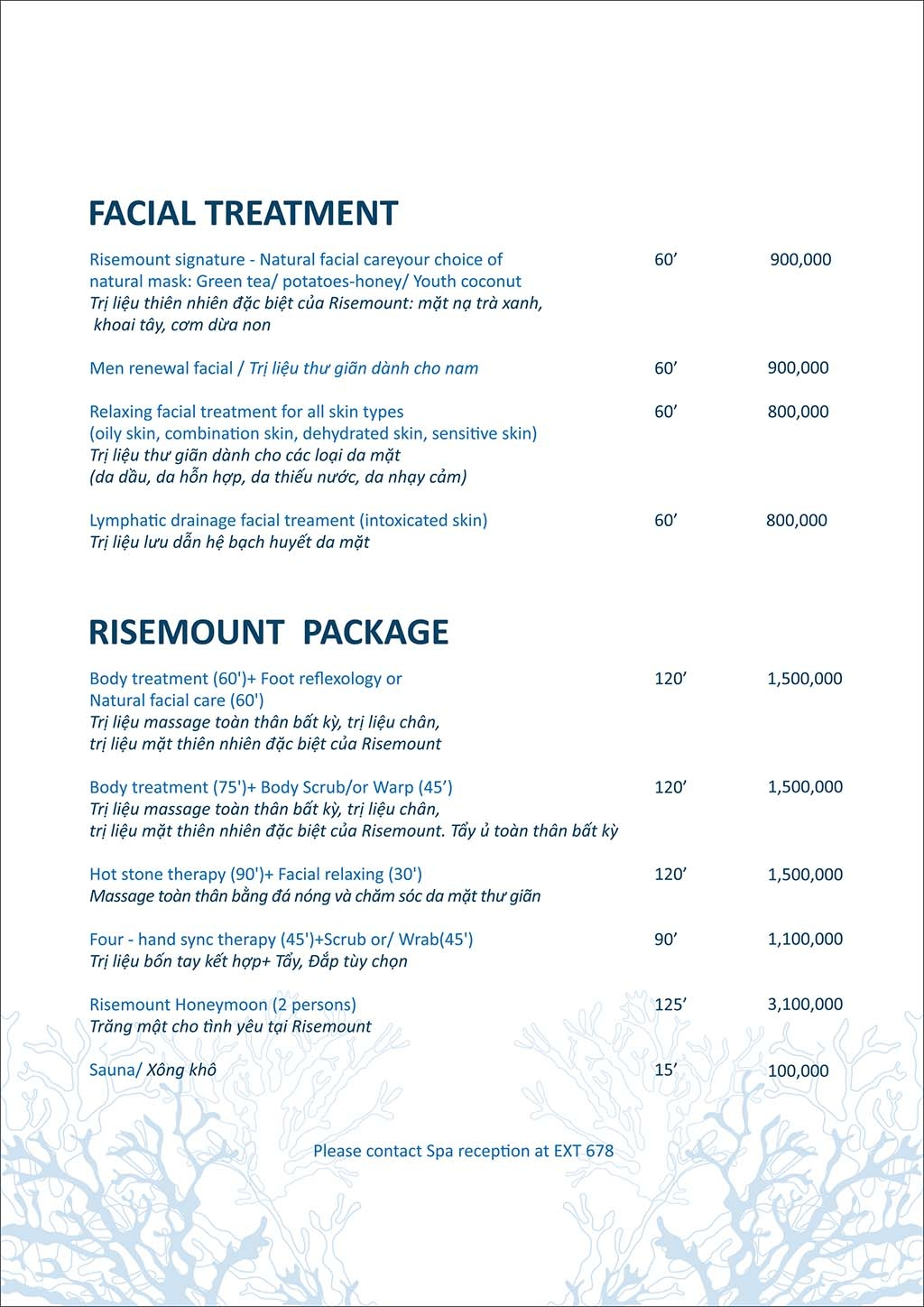 Risemount Resort – 20% discount for spa packages33