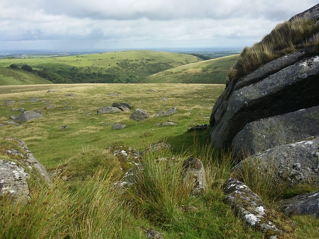 Shelstone Tor, above Meldon Reservoir