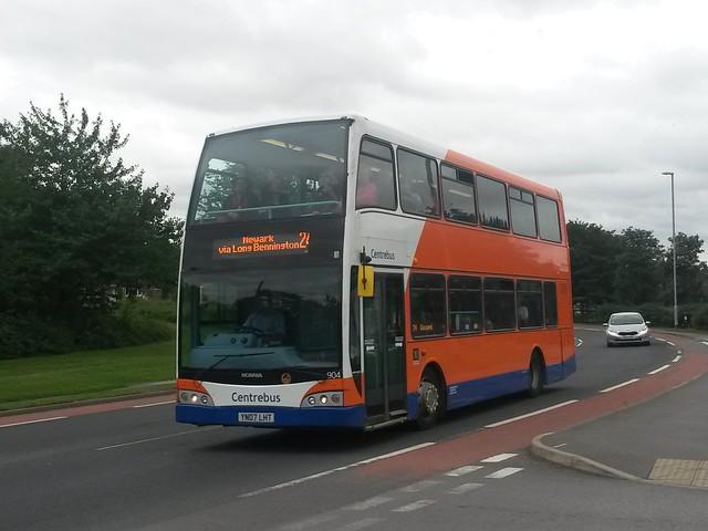 Centrebus 904 YN07 LHT