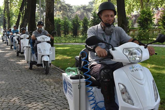 Sinekle mücadelede Elektrikli Bisiklet dönemi