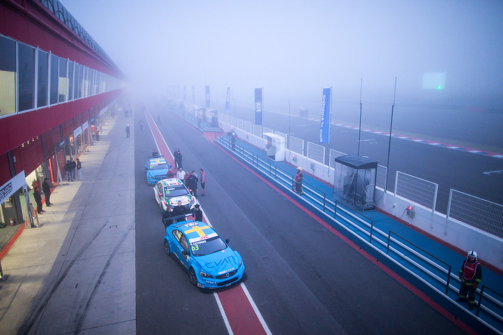 63 CATSBURG Nicky (ned) Volvo S60 Polestar team Polestar Cyan Racing fog ambiance during the 2017 FIA WTCC World Touring Car Race of Argentina at Termas de Rio Hondo, Argentina on july 14 to 16 - Photo Alexandre Guillaumot / DPPI
