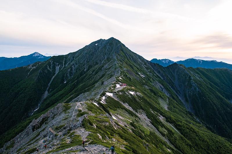 2017年07月15-16日 北岳―間ノ岳