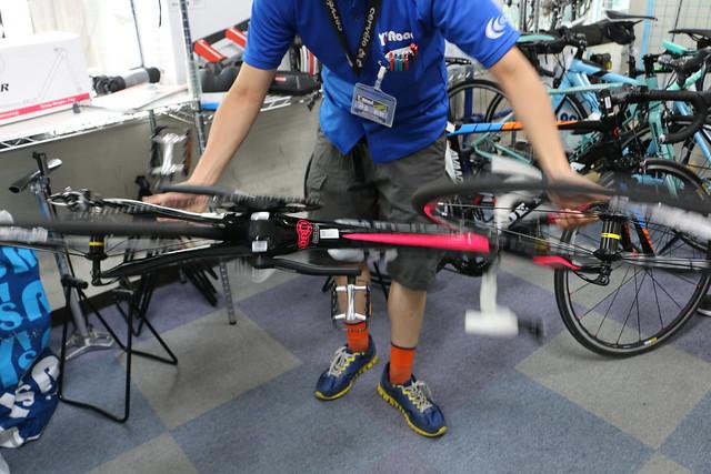 シマノ 自転車 100kmライドに挑戦 shimano ロングライド ロードバイク 輪行 roadbike ワイズロード池袋本館