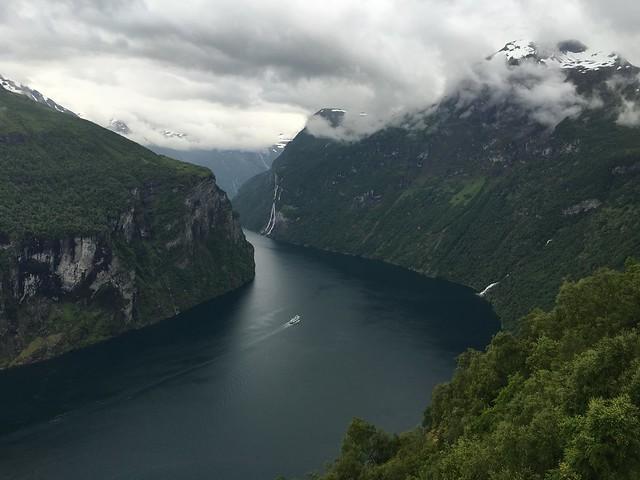 Geirangerfjord from Ørnesvingen
